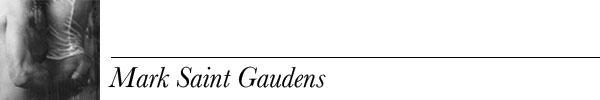 Erotic Author Mark-Saint-Gaudens | FrolicMe.com