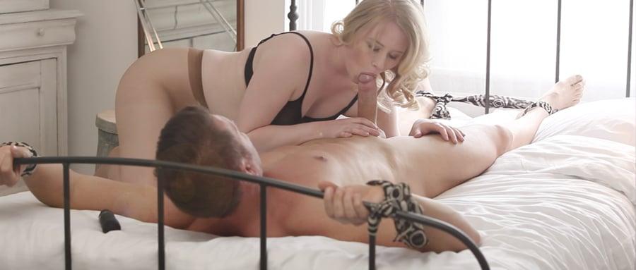 Ripped pantyhose sex film
