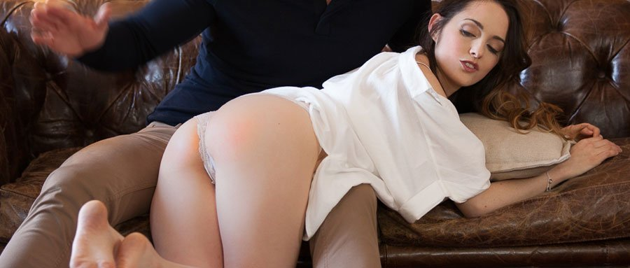 Beautiful bottom getting spanked | FrolicMe.com