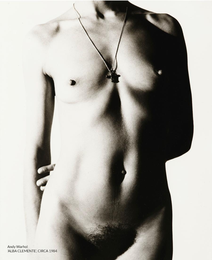 Andy Warhol 'ALBA CLEMENTE', CIRCA 1984
