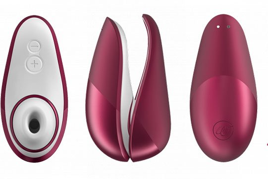 Image of the Womanizer clitoral vibrator - Frolicme.com